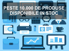 Peste 10.000 de produse de papetarie si birotica in stoc