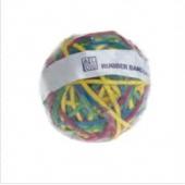 Elastice pentru bani, 190g/minge, D 70 x 6mm, ALCO