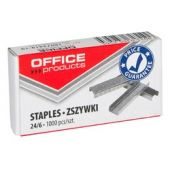 Capse 24/6,1000buc/cutie OFFICE PRODUCTS