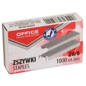 Capse 26/6,1000buc/cutie OFFICE PRODUCTS