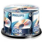 CD-R , 700MB, 52X, 50 buc/bulk, PHILIPS
