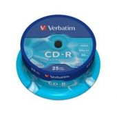 CD-R , 700MB, 52X, 25 buc/bulk, VERBATIM Extra Protection