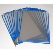 Set 10 buzunare de prezentare, albastru, TARIFOLD tehnic