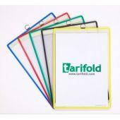 Set 5 buzunare de prezentare, diferite culori, TARIFOLD individual Hang