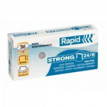 Capse 24/6, 1000 buc/cutie, RAPID Strong