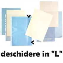 File protectie A4 deschidere in l