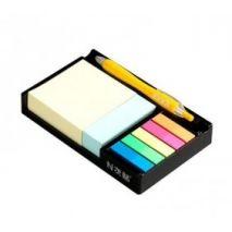 """Notes autoadeziv cu suport, 76 x 76/76 x 25/45 x 12 mm, Stick""""n - culori asortate"""