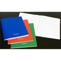 Caiet A5, 60 file - 80g/mp, liniat stanga, coperta carton laminat, AURORA - dictando