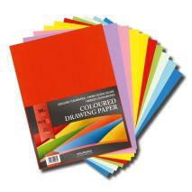Carton color A4+, 160g/mp - 100 coli/top, AURORA Raphael - 10 culori intense