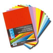 Carton color A4+, 250g/mp - 100 coli/top, AURORA Raphael - 10 culori intense