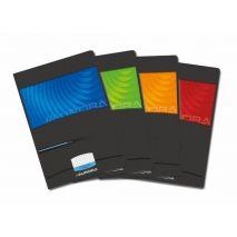 Caiet A4, 36 file - 90g/mp, liniat stanga, coperta carton lucios, AURORA Mano - matematica