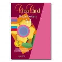 Carton color A4, 240g/mp - 24coli/set, AURORA Raphael - 6 culori intense