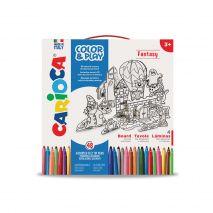 Set articole creative CARIOCA Color & Play - Fantasy