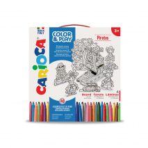 Set articole creative CARIOCA Color & Play - Pirates