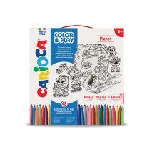 Set articole creative CARIOCA Color & Play - Planet