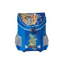 Ghiozdan scoala Easy, LEGO Core Line - design bleu Nexo Knights