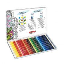 Creioane colorate acuarela Alpino Aquarelle