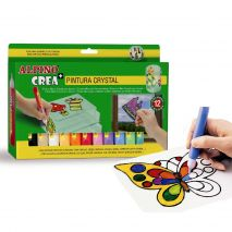 Set ALPINO Crea + Crystal Paint