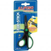 Foarfeca copii, 13cm, cu rubber grip, in blister, ALPINO Stop Stick