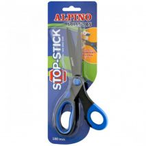 Foarfeca copii, 18cm, cu rubber grip, in blister, ALPINO Stop Stick