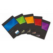 Caiet A5, 60 file - 90g/mp, liniat stanga, coperta carton lucios, AURORA Mano - matematica