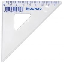 Echer 85mm, 45 grade, DONAU - transparent