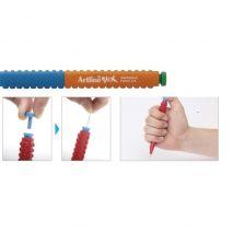 Creion mecanic ARTLINE Stix, 0.5mm - portocaliu/albastru