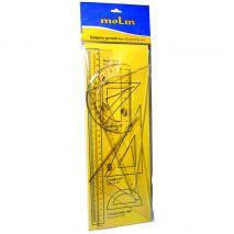 Set instrumente de desen Molin