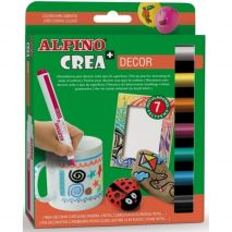 Set ALPINO Crea + DECOR - carioca