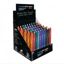 Display pix erasable ReMaker Soft 0.7mm, 50 buc/display - culori asortate