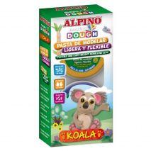 Kit 6 culori plastilina magica, ALPINO Koala