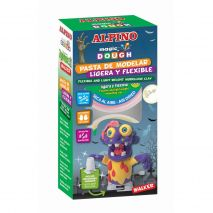 Kit 6 culori plastilina magica, ALPINO Walker