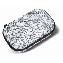Penar cu fermoar, ZIP..IT Color In Storage box - Leaves - EAN 7290103195991