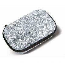 Penar cu fermoar, ZIP..IT Color In Storage box - Swirls - EAN 7290103196011