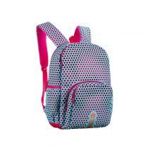 Rucsac ZIP..IT Mesh White & Pink, cu buzunare laterale - EAN 7290106148468