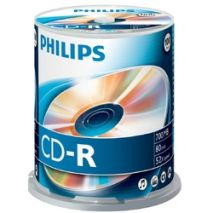 CD-R , 700MB, 52X, 100 buc/bulk, PHILIPS