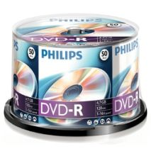 DVD-R , 4.7GB, 16X, 50 buc/bulk, PHILIPS