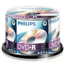 DVD-R , 4.7GB, 16X, 50 buc/bulk, PHILIPS