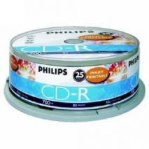 CD-R , 700MB, 52X, 25 buc/bulk, PHILIPS