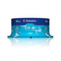 CD-R , 700MB, 52X, 25 buc/bulk, VERBATIM Extra Protection