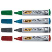 Marker permanent, varf rotund gros, 2.5mm, BIC 2000