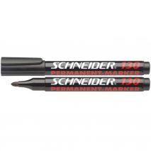 Marker permanent, varf rotund mediu, 1-3mm, SCHNEIDER 130