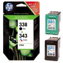 HP Cartus cerneala SD449EE Cartus HP 338 + HP 343