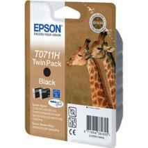 Epson Cartus cerneala C13T07114H10 Cartus T0711H x 2