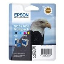 Epson Cartus cerneala C13T00740310 Cartus T007 + T008