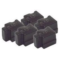 CERNEALA SOLIDA COLORSTIX BLACK 5 STICKS 016204000 7K XEROX PHASER 8200
