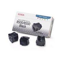 CERNEALA SOLIDA BLACK 3 STICKS 108R00668 3K ORIGINAL XEROX PHASER 8500 x 3