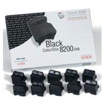 Black Wax 10 Pack Phaser 8200 14K