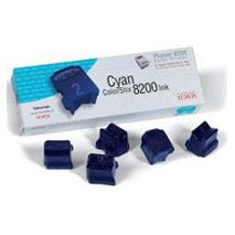Cyan Wax 5 Pack Phaser 8200 7K