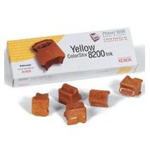 Yellow Wax 5 Pack Phaser 8200 7K